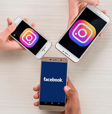 imagem ilustrativa - Facebook e Instagram